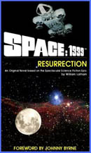 Book cover for Space: 1999 - Resurrection from Powys Media.